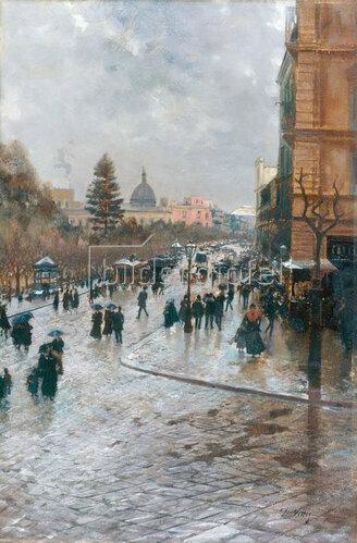 Attilio Pratella: Pariser Straße
