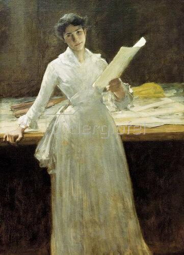 William Merrit Chase: Erinnerungen, um 1885/86