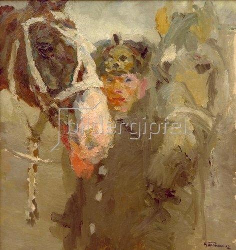 Max Feldbauer: Der Leibhusar, 1912.
