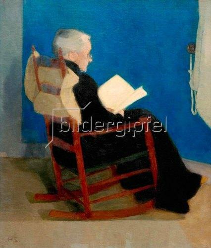 Helene Schjerfbeck: Meine Mutter 1902