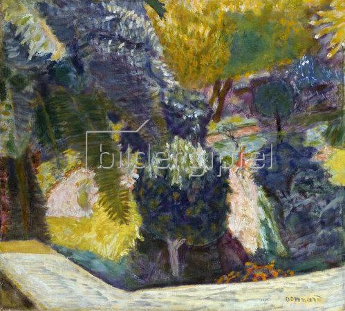 Pierre Bonnard: Suedfranzoesischer Garten in Le Cannet