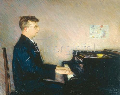 Pjotr Wladimirowitsch Wiljams: Bildnis des Komponisten Dimitrij Schostakowitsch