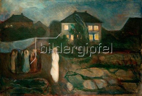 Edvard Munch: Der Sturm