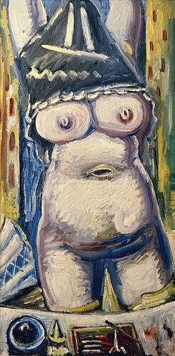 Paul Kleinschmidt: Akt frontal, 1949