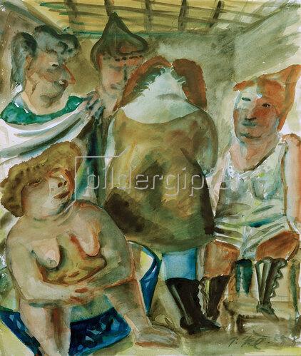 Paul Kleinschmidt: Frauenbad, um 1938