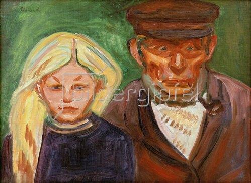 Edvard Munch: Der Fischer und seine Tochter