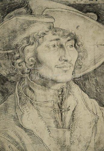 Albrecht Dürer: Brustbild eines jungen Mannes, 1521