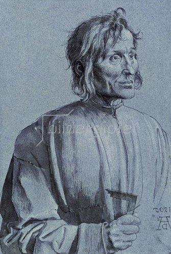 Albrecht Dürer: Bildnis eines Baumeisters (sog. Hieronymus von Augsburg), 1506