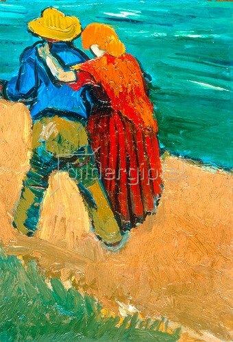 Van Gogh, Vincent 1853?1890.  ?Eglogue En Provence ? Un Couple D? Amoureux?, 1888.  London, Sotheby?s. Lot 13, 25/3/1986.
