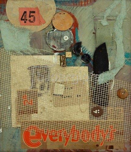 Kurt Schwitters: Everybody's, 1945.