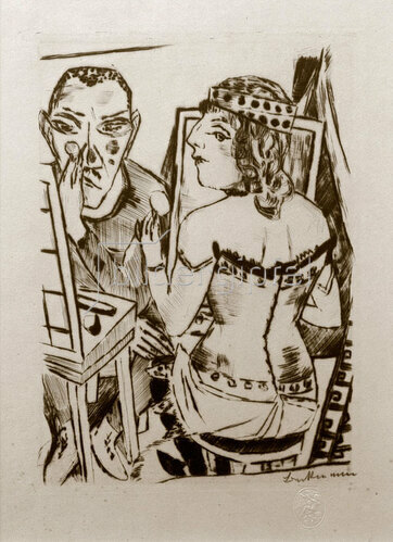 Max Beckmann: Garderobe