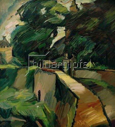 Kurt Schwitters: Landschaft aus Opherdicke / Gutshof Opherdicke