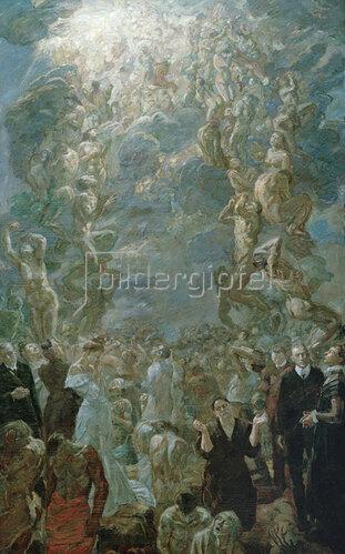 Max Beckmann: Auferstehung, 1908/09
