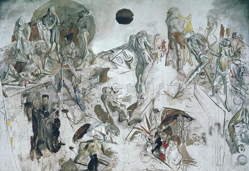 Max Beckmann: Auferstehung, 1916