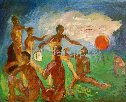 Anton Kolig: Die Sonnensucher, 1947