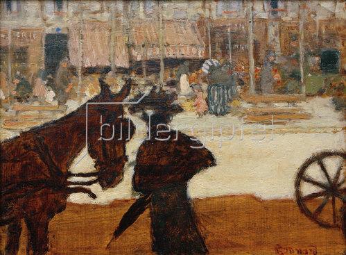 Pierre Bonnard: Le cheval de fiacre