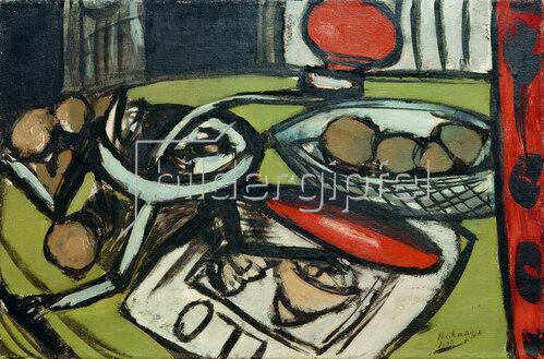 Max Beckmann: Küchenmaschine