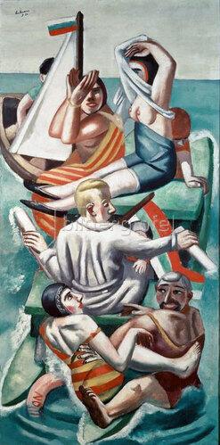 Max Beckmann: Die Barke