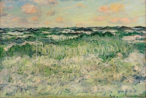 Claude Monet: Meerstudie (Etude de mer). 1881