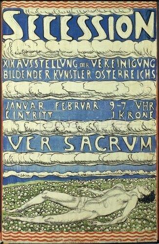 Ferdinand Hodler: Plakat zur 19. Ausstellung der Vereinigung Bildender Künstler Österreichs,