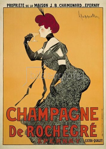 Leonetto Cappiello: Champagne De Rochegré / Epernay