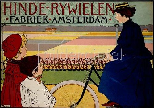 HINDE-RYWIELEN. Fabriek. Amsterdam