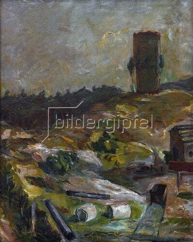 Max Beckmann: Wasserturm in Hermsdorf