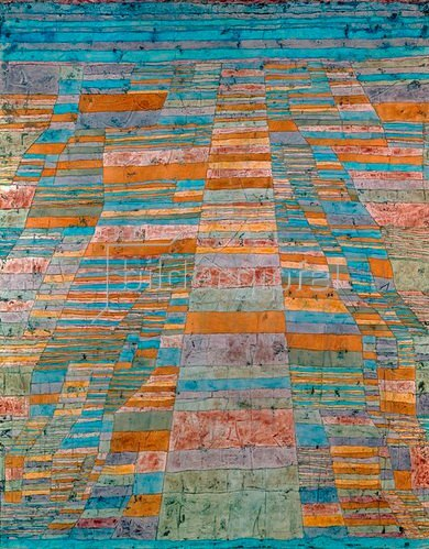 Paul Klee: Haupt? und Nebenwege, 1929