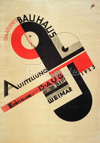 Joost Schmidt: Bauhaus Ausstellung in Weimar 1923