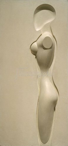 Joost Schmidt: Weibliche Figur, 1932/33.