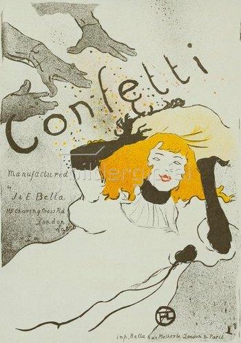 Henri de Toulouse-Lautrec: Confetti