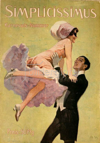 Wennerberg Brynolf: Tanzpaar, 1905