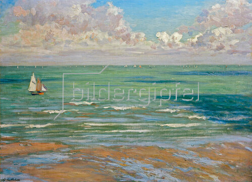 Gustave Caillebotte: Marine (od. Marine, régates à Villers)