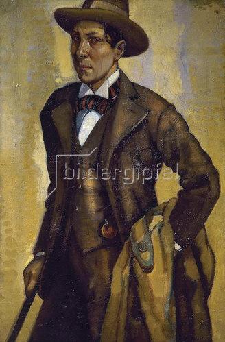 Gustavo de Maeztu Whitney: Gustavo de Maeztu Whitney, Selbstporträt, 1900.