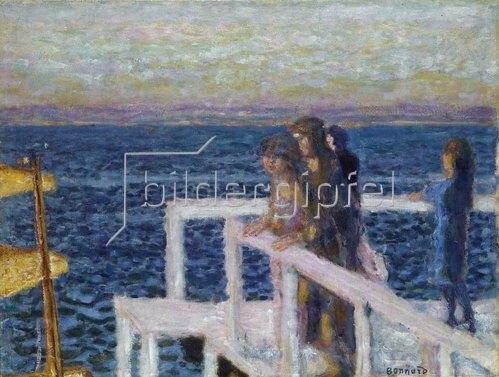 Pierre Bonnard: Die Landungsbruecke in Cannes