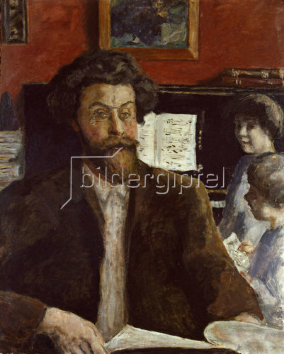 Pierre Bonnard: Komponist Claude Terrasse mit Söhnen Jean und Charles