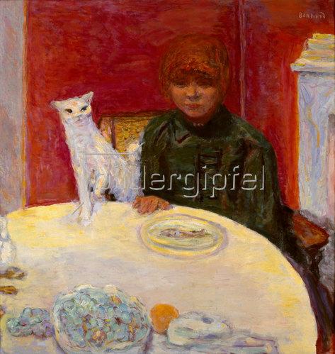 Pierre Bonnard: Die Frau mit Katze