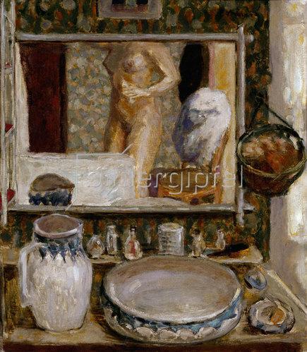 Pierre Bonnard: Der Toilettentisch oder Der Spiegel
