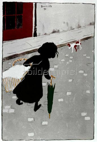 Pierre Bonnard: Die kleine Wäscherin, 1896