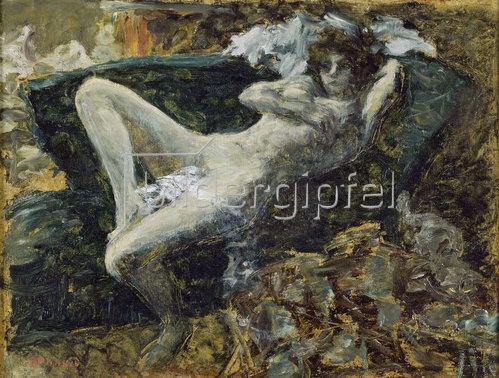 Pierre Bonnard: Akt in Blau