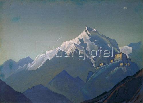 Nikolai Konstantinow Roerich: Tibet. Ein Kloster
