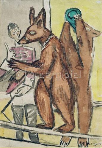 Max Beckmann: Dressierte Bären