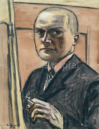 Max Beckmann: Selbstbildnis, 1932