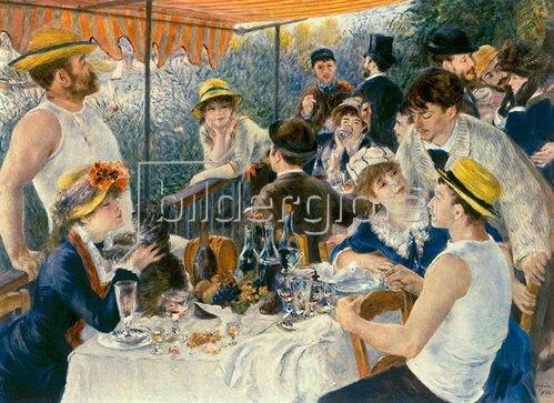 Auguste Renoir: Frühstück der Ruderer, 1881