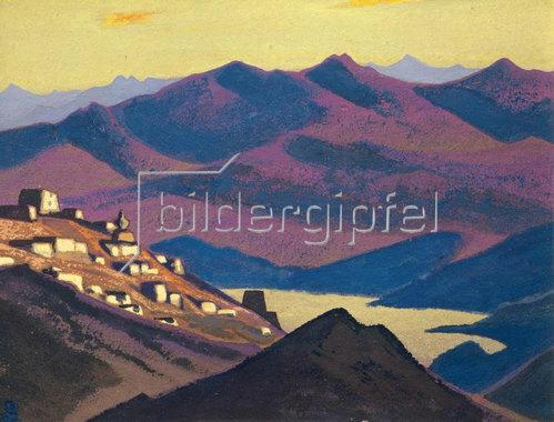 Nikolai Konstantinow Roerich: Jam-Zo-See (Siedlung in den Bergen)