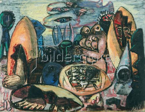 Max Beckmann: Frühe Menschen