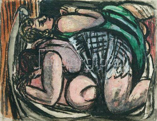 Max Beckmann: Zwei liegende Frauen