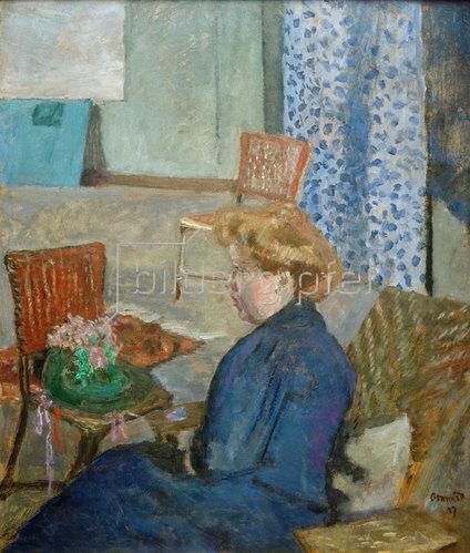 Pierre Bonnard: Die Modistin, 1907