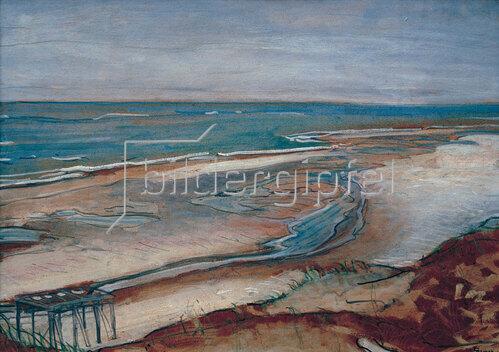 Max Beckmann: Strandlandschaft, 1902