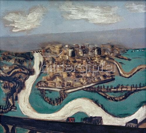 Max Beckmann: Landschaft Saint-Germain, 1930
